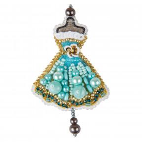 Платье Набор для изготовления броши Crystal Art  БП-322
