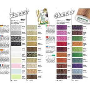 Карта цветов Glamour №12 108