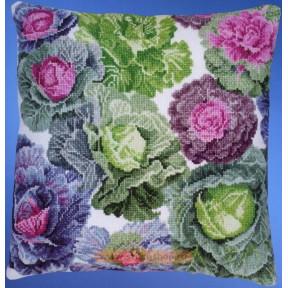 Набор для вышивания  Janlynn 178-0500 Cabbages Pillow Top