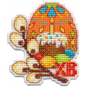 Пасхальное яйцо Набор для вышивки крестом Овен 1289о