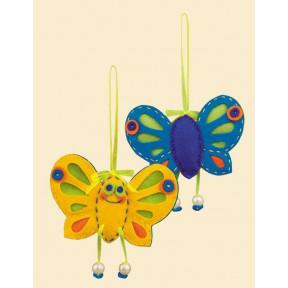 Набор для рукоделия Риолис 1407АС Солнечная бабочка