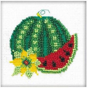 Набор для вышивания бисером Риолис 1320 Арбуз