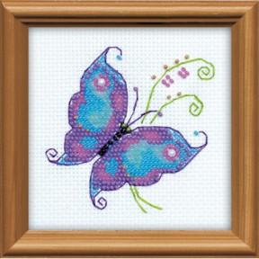Набор для вышивания бисером Риолис 1264 Чудесная бабочка