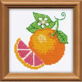 Набор для вышивания бисером Риолис 1263 Апельсин