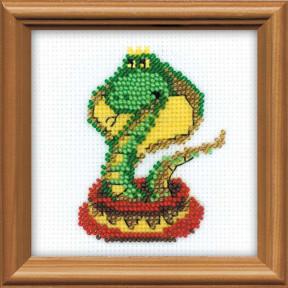 Набор для вышивания бисером Риолис 1289 Королева змей