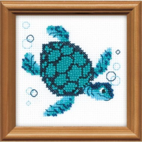 Набор для вышивания бисером Риолис 1290 Морская черепаха