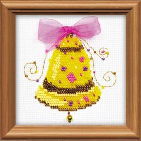Набор для вышивания бисером Риолис 1222 Счастливый звон