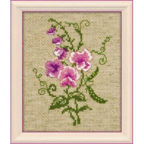 Набор для вышивания бисером Риолис 1250 Садовый горошек
