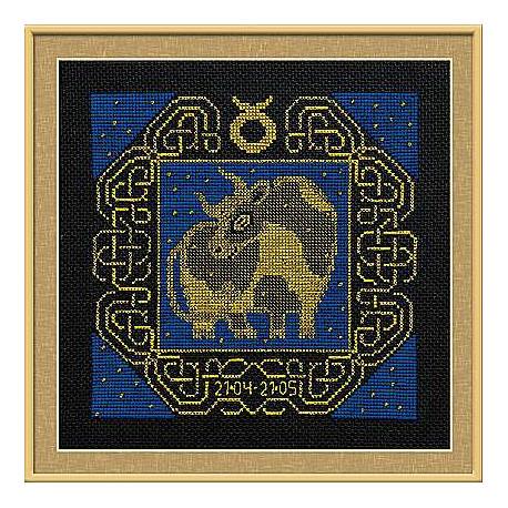 Набор для вышивания Риолис 1202 Знак зодиака Телец