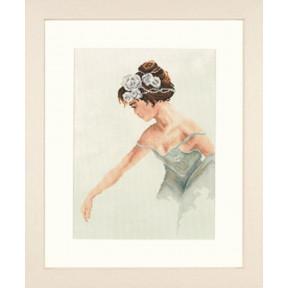 Набор для вышивки крестом LanArte PN-0008254  Балерина