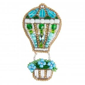 Воздушный шар Crystal Art Набор для изготовления броши БП-316