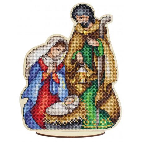 Святое семейство Набор для вышивания МП Студия О-026