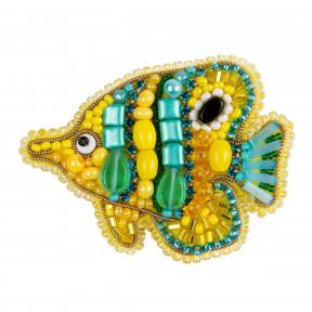 Рыбка Crystal Art Набор для изготовления броши БП-324