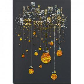 Ламповый вечер Набор для вышивки бисером Абрис Арт АВ-811