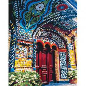Загадочный магазин Картина по номерам Идейка холст на подрамнике 40x50см КНО2175