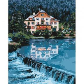 Дом мечты Картина по номерам Идейка холст на подрамнике 40x50см КНО2267