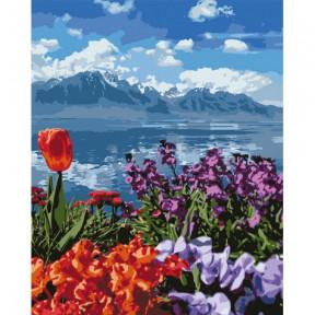 Цветочный рай Картина по номерам Идейка холст на подрамнике 40x50см КНО2278