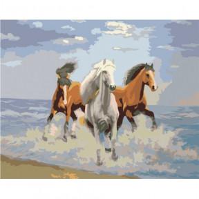 Свежий ветер Картина по номерам Идейка холст на подрамнике 40x50см КНО2430