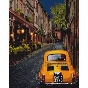Городской уют Картина по номерам Идейка холст на подрамнике 40x50см КНО3576