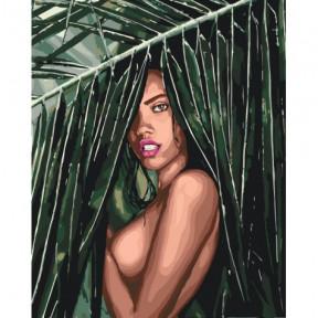 Соблазнительная амазонка Картина по номерам Идейка холст на подрамнике 40x50см КНО4507
