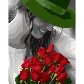 Цветы любимой Картина по номерам Идейка холст на подрамнике 40x50см КНО4705