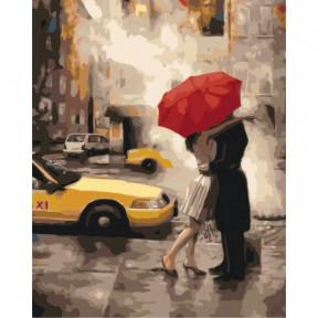 Последний поцелуй Картина по номерам Идейка холст на подрамнике 40x50см КНО2657