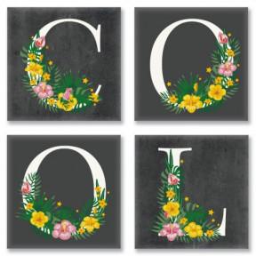 Набор для росписи по номерам полиптих COOL, лофт Картина по номерам Идейка подарочная упаковка с ручкой СH115