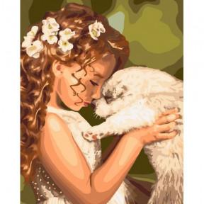 Мой любимец Картина по номерам Идейка холст на подрамнике 40x50см КНО2340