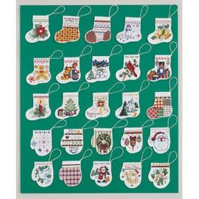 Набор для вышивания Janlynn 021-1001 Lotsa Stocking and Mittens