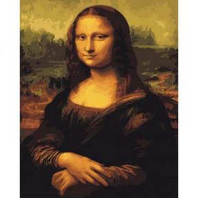 Мона Лиза BrushMe холст на подрамнике 40x50см BS241