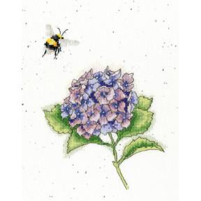 Занятая пчела Bothy Threads Набор для вышивания крестом XHD75