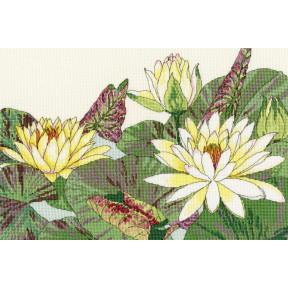 Цветет кувшинка Bothy Threads Набор для вышивания крестом XBD12