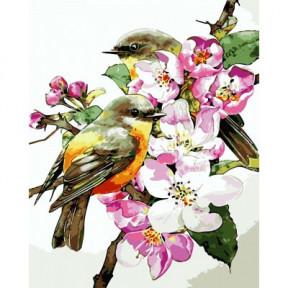 Птицы на ветке ArtStory подарочная упаковка 40x50см AS0722
