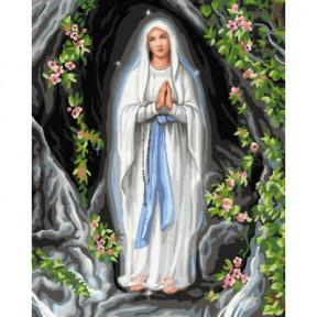 Богородица BrushMe холст на подрамнике 40x50см GX33229