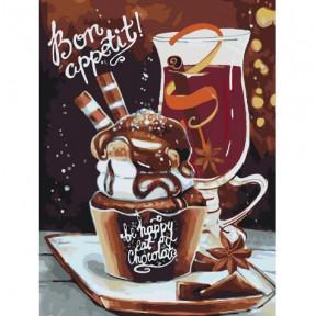 Bon appetit Картина по номерам Идейка холст на подрамнике 40x50см КНО5501