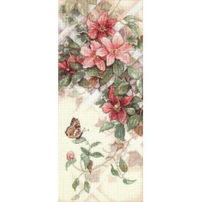 Набор для вышивания крестом Classic Design  Цветы и Бабочки 4325