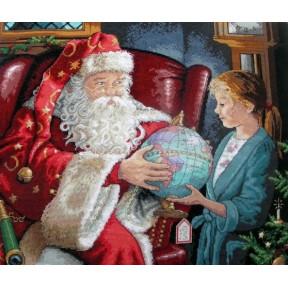 Набор для вышивания крестом Classic Design Однажды в Рождество 4343