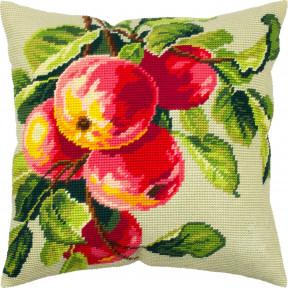 Ветка яблони Набор для вышивки подушки Чарівниця V-329