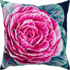 Цветок капусты Набор для вышивки подушки Чарівниця V-331