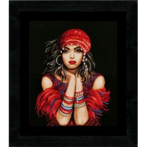 Набор для вышивания Lanarte PN-0144529 Gypsy Girl фото