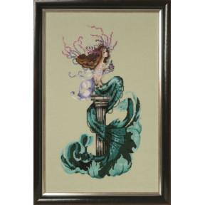 Mermaid Perfume / Парфюм русалки Mirabilia Designs Схема для вышивания крестом MD173
