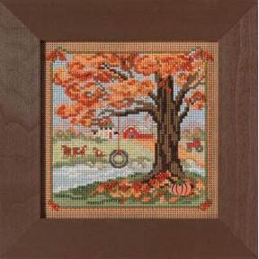 Осенние качели Mill Hill Набор для вышивания крестом MH142126