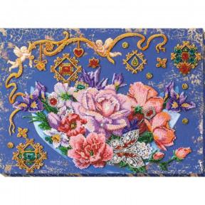 Волшебные цветы Набор для вышивки бисером Абрис Арт АВ-813