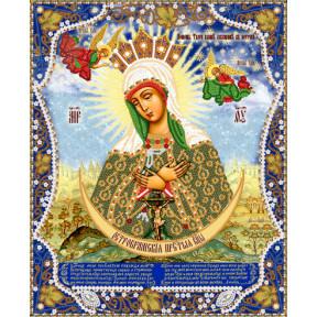 Остробрамская Пресвятая Богородица Рисунок на ткани Марічка   РИК-3-009