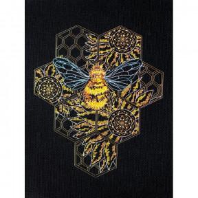 Пчелиный рай Абрис Арт Набор для вышивки крестом AH-124