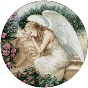 Набор для вышивания крестом Classic Design Садовый ангел 4334