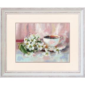 Ароматный чай Набор для вышивки Золотое Руно СЖ-060