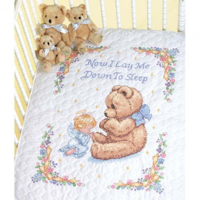 Набор для вышивания одеяла Dimensions 13088 Sweet Prayer Quilt