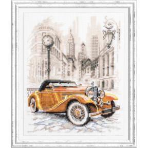 Ретро-стиль. Нью-Йорк Набор для вышивки крестом Чудесная игла 110-026
