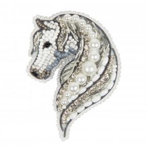 Лошадь Crystal Art Набор для изготовления броши БП-327